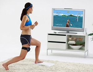 Exercise with video games