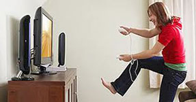 play video games instead of working out
