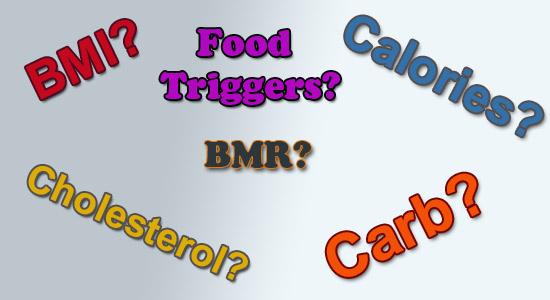 bmi bmr carb calories?